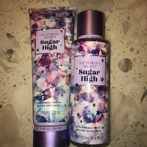 Vs sugar high lotion and mist set